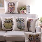 可愛時尚動物抱枕 靠墊 沙發裝飾靠枕 節日禮物 (二入)