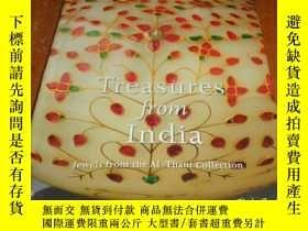 二手書博民逛書店2手英文罕見Treasures from India: Jewe