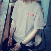 售完即止-正韓短袖T恤夏季短袖t恤男士打底衫圓領上衣服體恤半袖潮修身8-23(庫存清出T)