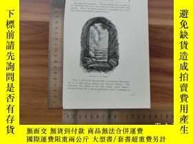 二手書博民逛書店【罕見】19世紀 銅 鋼版畫 單幅 ENTRANCE TO CA