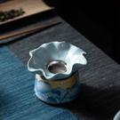 茶漏過濾網套組功夫茶具茶道配件家用陶瓷茶濾泡茶過濾器小
