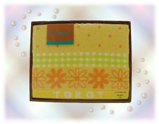 【波克貓哈日網】TOROY浴巾    ◇121x64◇   《耀眼橘黃》日本製純棉製品