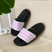 《7+1童鞋》ADIDAS FY8843 輕量 防水 止滑 運動拖鞋 7417 粉色