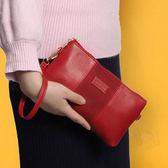 女款手拿包 女士手抓包 信封包手拿包 女生手拿包 手拿包軟皮大容量 手機包小包氣質簡約