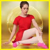 幼兒童舞蹈鞋女軟底練功鞋瑜伽貓爪鞋紅色成人跳舞鞋白色芭蕾舞鞋