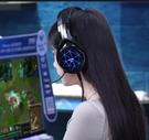 頭戴式耳機 耳機頭戴式電腦耳機臺式電競游戲耳麥帶麥克風吃雞聽聲辯【快速出貨八折鉅惠】