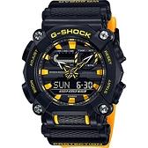 CASIO 卡西歐 G-SHOCK 工業風數位雙顯錶 GA-900A-1A9
