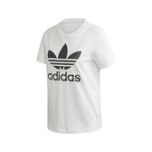 adidas 短袖T恤 Trefoil Tee 白 黑 女款 基本款 運動休閒 【PUMP306】 FM3306