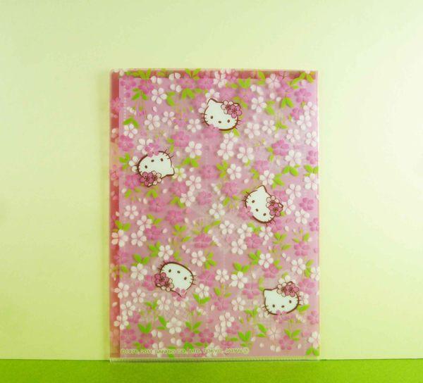 【震撼精品百貨】Hello Kitty 凱蒂貓~A5文件夾~粉櫻花【共1款】