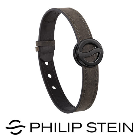 【Philip Stein】翡麗詩丹能量手環-【經典深灰】睡眠手環/運動手環