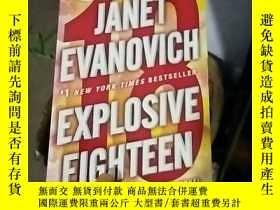 二手書博民逛書店Explosive罕見Eighteen: A Stephanie