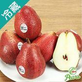 美國紅西洋梨 4粒/盒(約160g±5%/粒)【愛買冷藏】