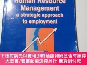 二手書博民逛書店Human罕見Resource Management a strategic approach to employ