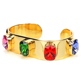 chicist 彩虹寶石硬式手環