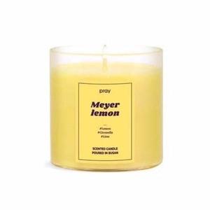 Pray 經典天然香氣蠟燭系列(L)-梅爾黃檸檬