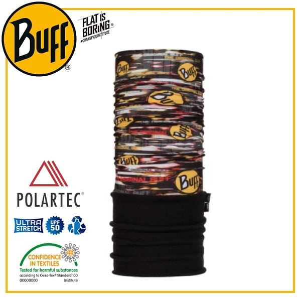 【BUFF 西班牙 POLAR保暖頭巾 Plus 狂熱BUFF】118817/圍脖/帽子/口罩/圍巾/吸溼排汗