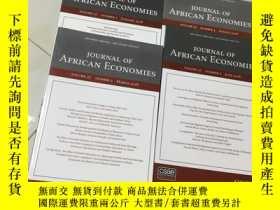 二手書博民逛書店journal罕見of african economies 20