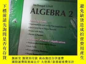 二手書博民逛書店罕見實拍;Chapter 2 Resource Book Alg