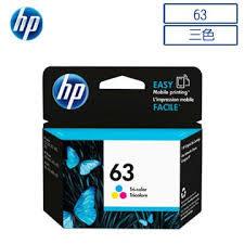 HP F6U61AA NO.63原廠彩色墨水匣 適用DJ3630/2180/2130/1110/ENVY4520/OJ3830/4650(原廠品)