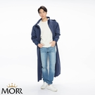 【MORR】Dimensional 前開雨衣【午夜藍】超大後背空間/容納後背包/連身雨衣/機車