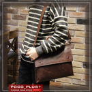 PocoPlus 醫生包風文件包 手拿包 硬挺公文包 拼接公事包 電腦包 【B506】