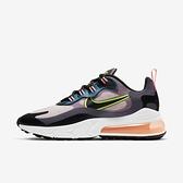 Nike Wmns Air Max 270 React [CV8818-500] 女鞋 運動 休閒 氣墊 穿搭 紫 黑