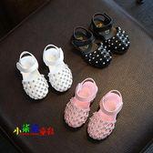 夏季新款寶寶鞋子1-2-3歲嬰兒鞋軟底防滑包頭涼鞋女童單鞋潮