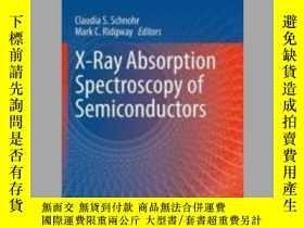 二手書博民逛書店X-Ray罕見Absorption Spectroscopy of SemiconductorsY405706