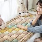 韓式純棉手工拼接全棉飄窗墊純棉窗台墊臥室陽台榻榻米四季可機洗 【優樂美】