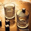 洋酒杯 威士忌酒杯ins風北歐家用水晶玻璃洋酒杯創意啤酒杯酒吧套裝 洛小仙女鞋