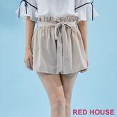Red House-蕾赫斯-花苞綁帶短褲(共2色)