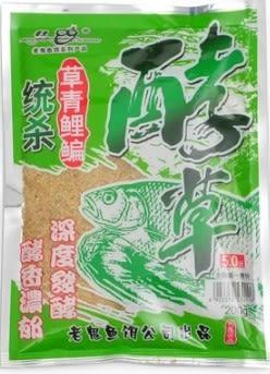 [協貿國際]  酵草鯽鯉鯿草回頭魚料 3個價