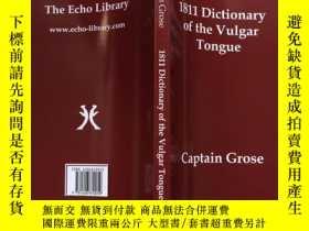 二手書博民逛書店1811罕見Dictionary of the Vulgar T