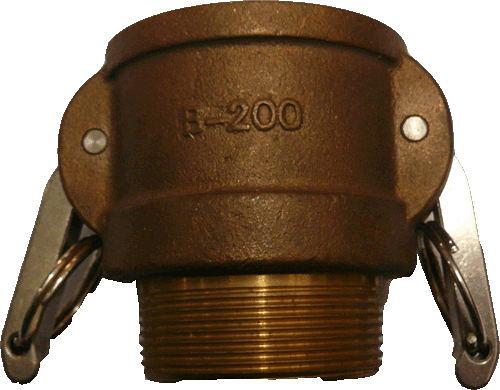 水用快速接頭 B型 2英吋 PT母外牙 材質:銅 台灣製造