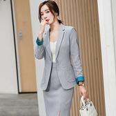 西裝套裝外套+褲/裙(兩件套)-修身一粒扣口袋時尚女西服8款73yz50[巴黎精品]