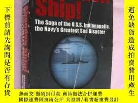二手書博民逛書店Abandon罕見Ship! (美海軍潛艇事故-插圖本):the