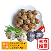 【好媽媽家料理】山珍海味綜合手工丸組(小組)-電電購