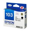 T103150 No.103 高印量XL黑色墨水匣 適用 Stylus Office T40W/TX550W/TX600FW/TX610FW