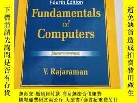 二手書博民逛書店Fundamentals罕見Of Computers計算機基礎 第四版(沒勾畫有點水漬)Y6318 V.RAJ