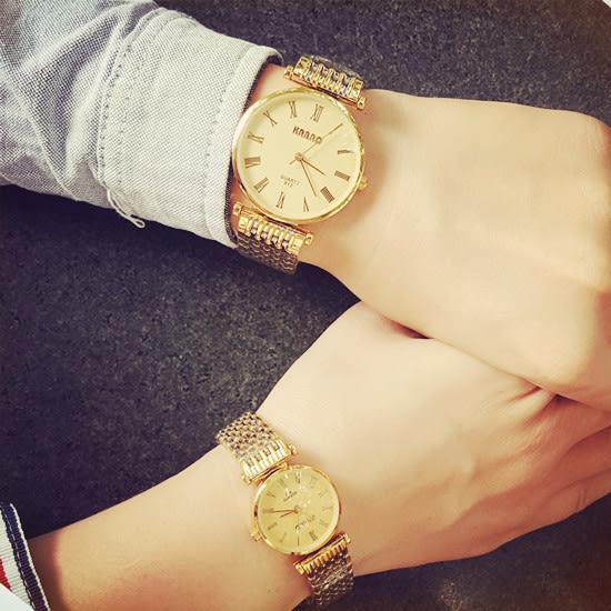 【原創館】情侶表 學生鋼帶 一對手表