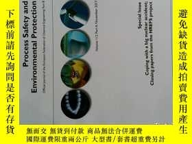 二手書博民逛書店Process罕見Safety and Environmental Protection PSEP PART A