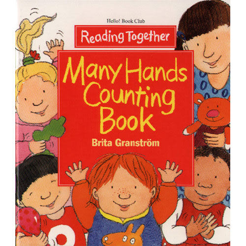 【Reading Together】Many Hands Counting Book(1Book + 1CD)