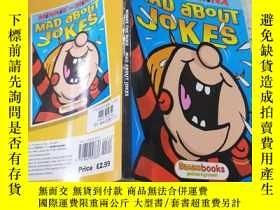 二手書博民逛書店mad罕見about jokes為笑話瘋狂Y200392