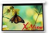 《名展影音》 X-VIEW 120吋 投影布幕 4:3 席白幕面電動布幕 AWB-1204345SR