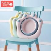 2個裝3初生新生嬰兒童用品可折疊洗臉盆洗屁股卡通PP用 洛小仙女鞋
