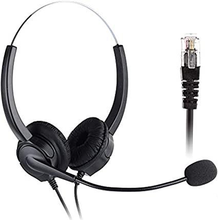 Tentel 國洋通信電話總機K-362電話耳麥,專屬頭戴式電話耳機麥克風 雙耳
