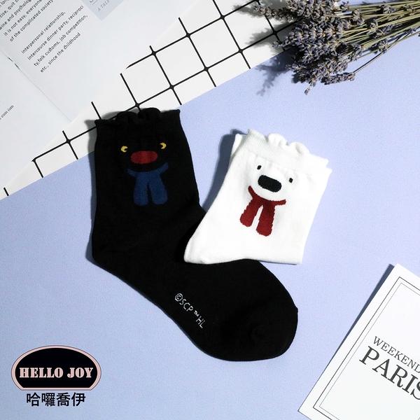 【正韓直送】卡斯柏&麗莎中筒襪 韓國襪子 長襪 韓襪 女襪 棉襪 禮物 韓妞必備 哈囉喬伊 U2