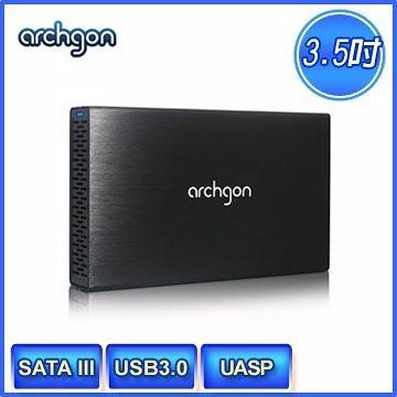 [NOVA成功3C]【archgon】MH-3231-U3V3 USB3.0 3.5吋SATA鋁合金硬碟外接盒