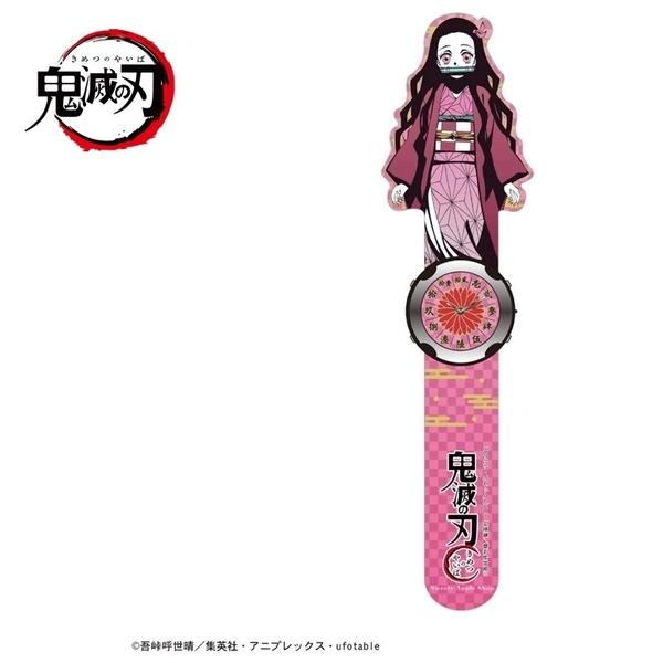 【SAS】日本限定 鬼滅之刃 竈門禰豆子 手壓捲式 兒童手錶 / 腕錶