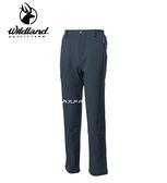 丹大戶外用品 荒野【Wildland】男SOFTSHELL防風保暖長褲 型號 0A62318-93 深灰色